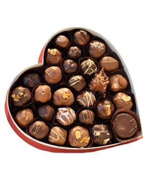 chocolate box valentine's day