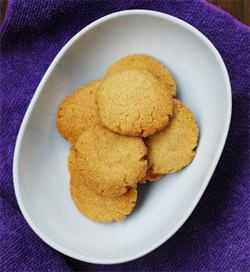 Tahini Almond Cookies | Awesome Asian - Chinese, Japanese, Korean, Th ...