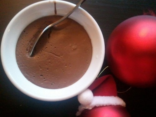 Eggnog chocolate pudding | Well fed, flat broke | Pinterest