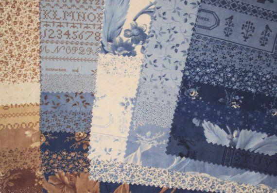 CRUMB CAKE 33 sample set Moda quilt fabric Blackbird Designs calico ...