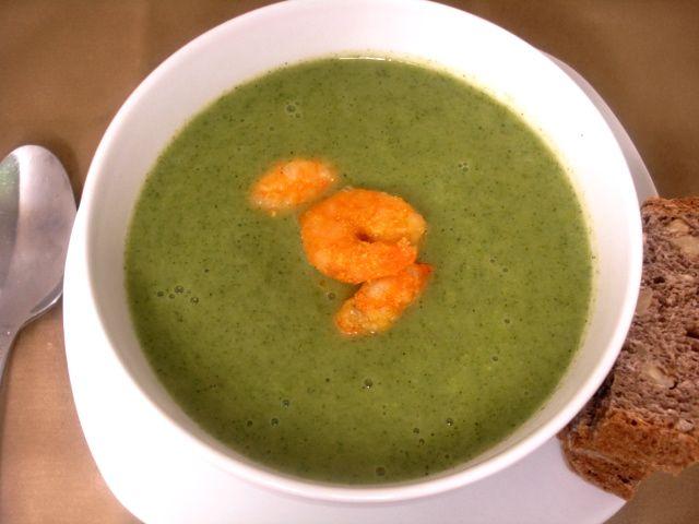broccoli and arugula soup | soup | Pinterest