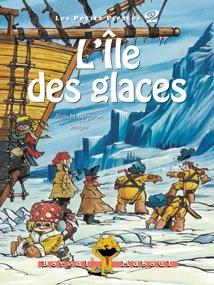 L'île des glaces, série Les petits pirates 2, Alain M. Bergeron, illust. Sampar, Boréal Maboul, 56 pages