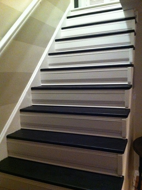 stair makeover for cheap for the home pinterest