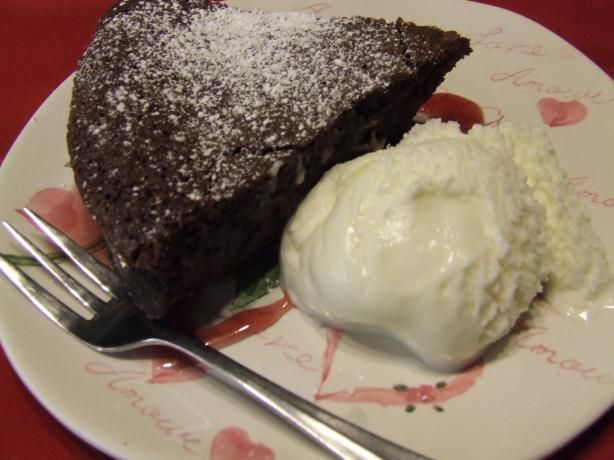Bittersweet Flourless Chocolate Cake from Food.com: after searching ...