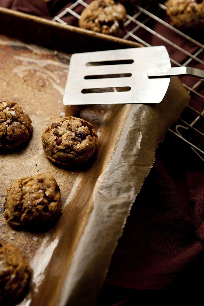 Butterscotch, Chocolate Chunk Sea Salt Cookies, Gluten-free