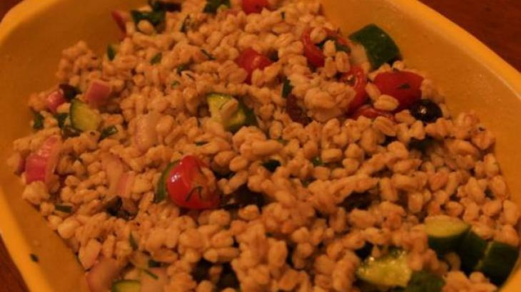 Summer Farro (Emmer) Salad | Pasta - Rice - Quinoa - Grains | Pintere ...