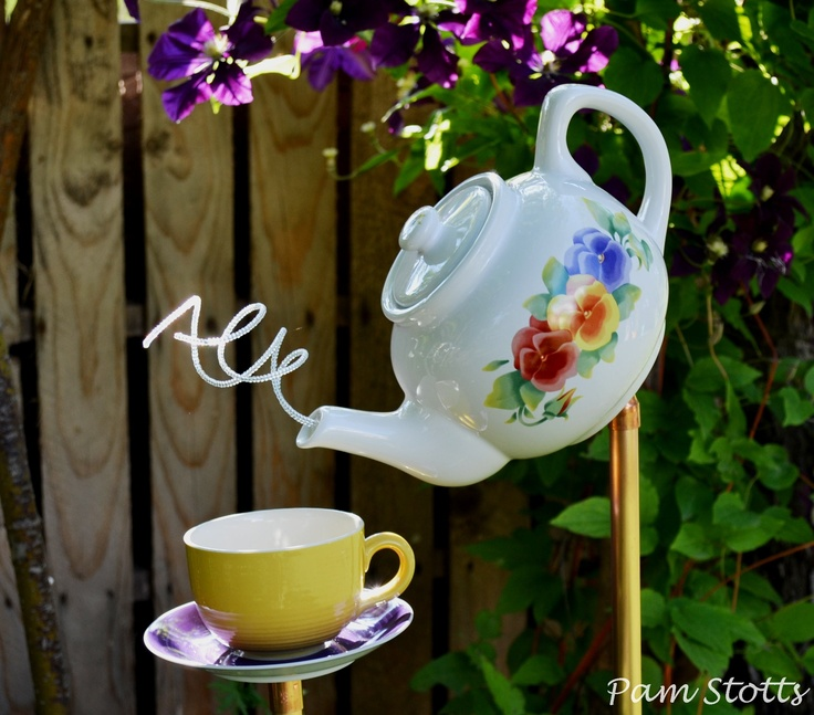 Garden teapot