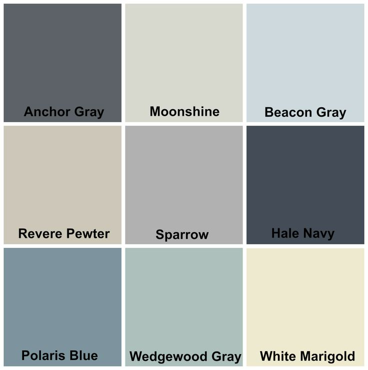 my whole home color palette for the home pinterest