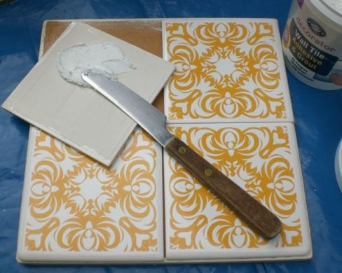How To Make Trivets From Tiles Crafts Pinterest