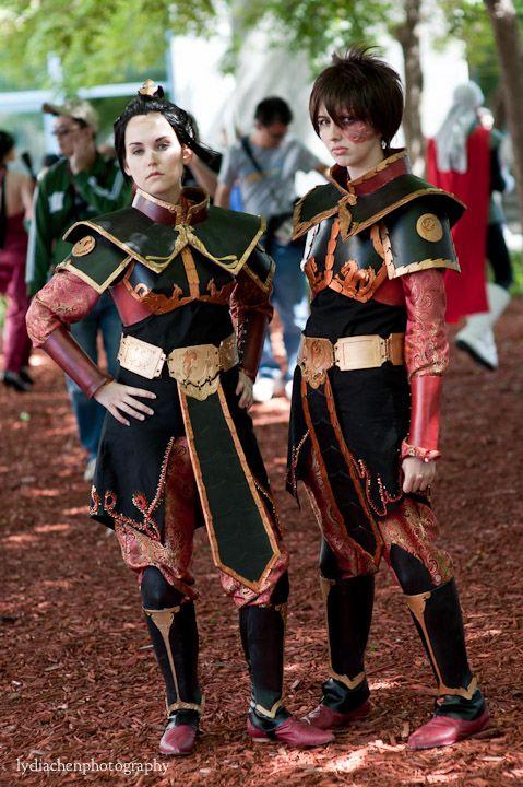 Awesome Azula and Zuko cosplay