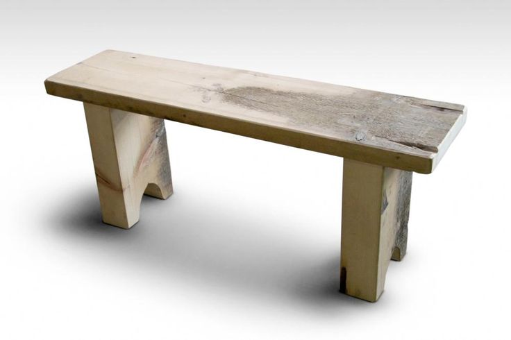 Rustic White Pine Farm Table Bench Design Dining Tables Chairs