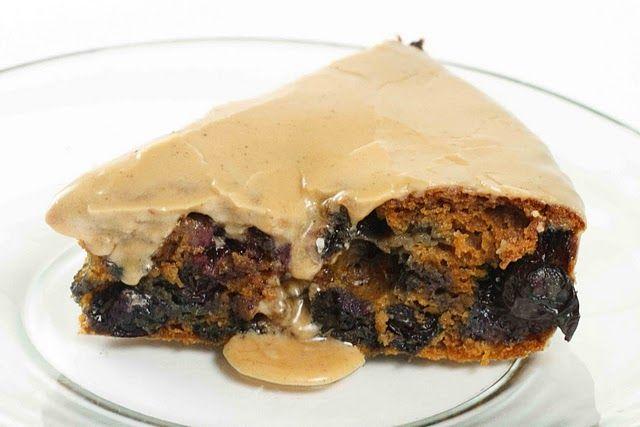 Vintage Blueberry Molasses #Cake