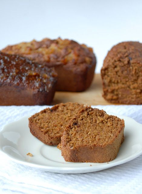 Gingerbread loaf | Vegan | Pinterest