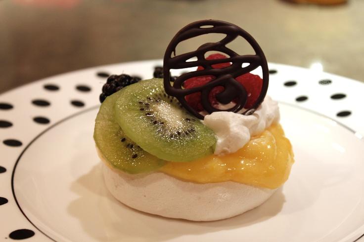 Lemon Curd, homemade Whipped Cream, Kiwis, Blackberries, Raspberries ...