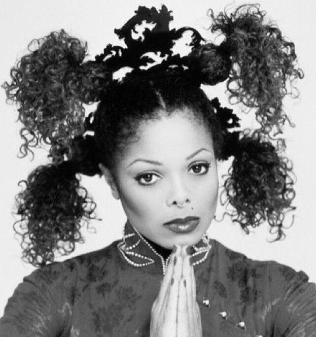 Janet Jackson Hair