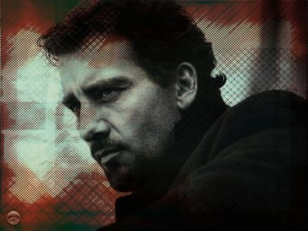 clive owen -- he's such a manly man. how I love him so!