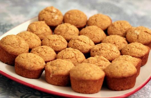 Mini Whole Wheat Corn Muffins | Breads & Muffins & Things | Pinterest