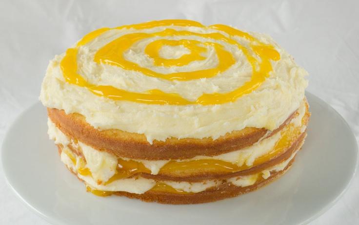 Lemon Curd Layer Cake | FOODs | Pinterest