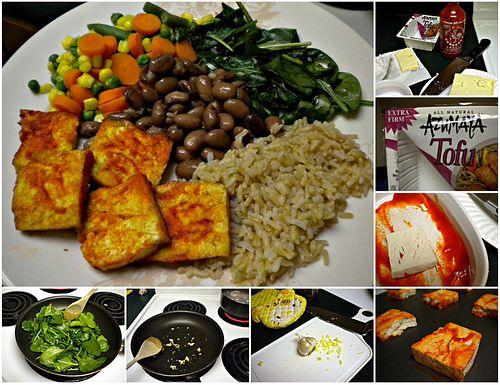 baked Sriracha tofu #vegan | Vegan food and Inspiration* | Pinterest