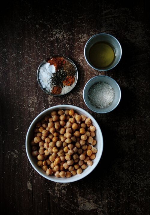 ... & Notations of a Novice Cook • Making Roasted Spiced Chickpeas