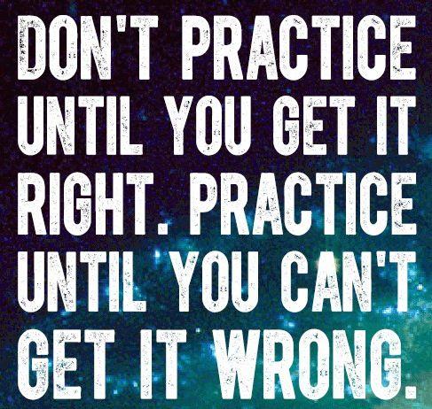 practise makes perfect essays