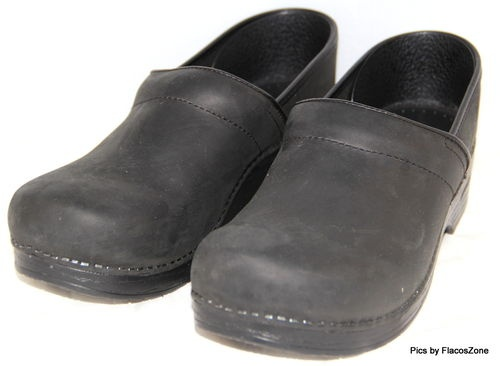 Dansko Womens Shoes Black Clogs Leather Size 13 US 45 EUR   eBay