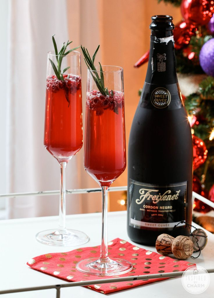 Sparkling Pomegranate Cocktail | Inspired by Charm #IBCholiday ...