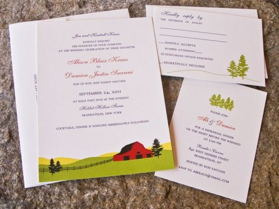 Farm Wedding Invitations is the best ideas you have to choose for invitation example