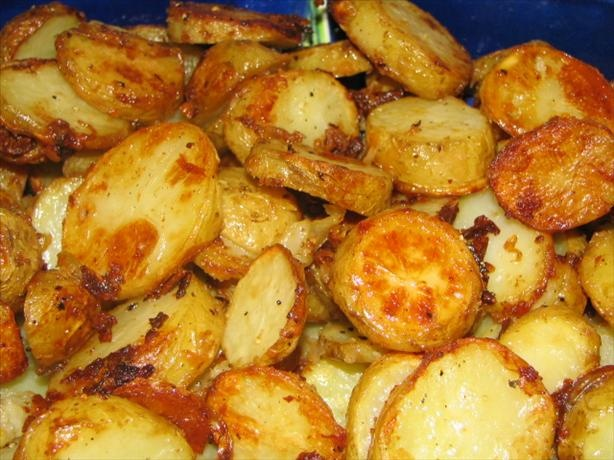 Onion Parmesan Roasted Red Potatoes | Recipe