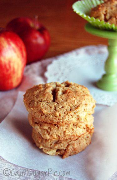 Apple Cinnamon Oatmeal Cookies #peanutfree #eggfree | Recipe