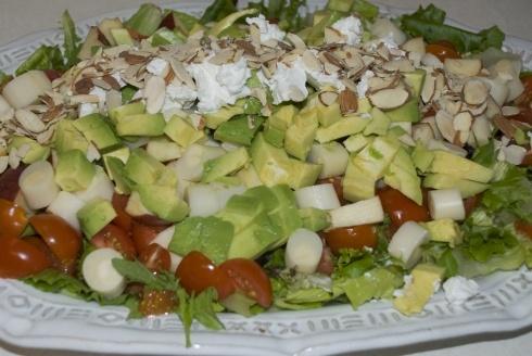 Layered salad venezuelan style venezuelan cuisine for Arlene s cuisine