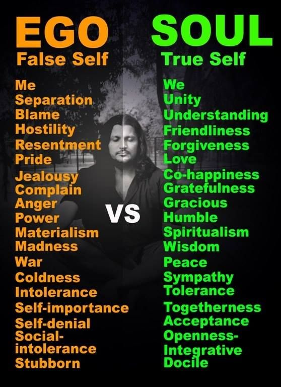 Ego Versus Soul Namaste Quotes Pinterest