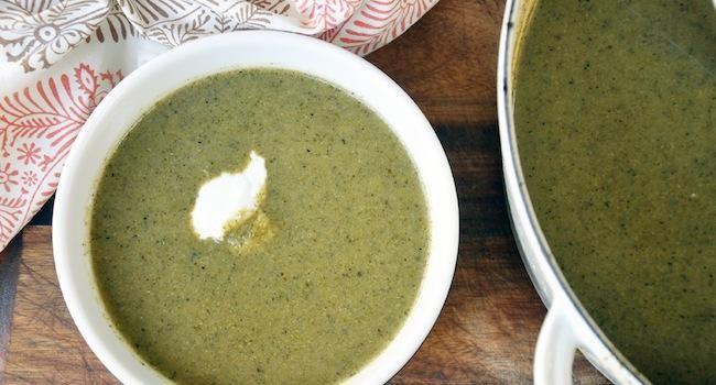 Roasted Broccoli Soup | Soup's On | Pinterest