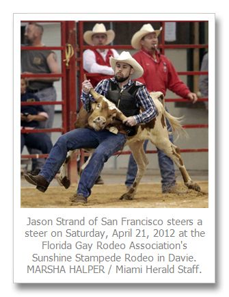 Gay rodeo in Davie attracts straight shooters: pinterest.com/pin/174514554280919597