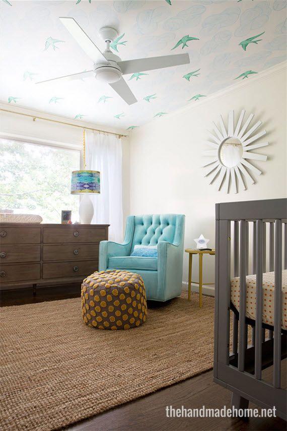 Ceiling Ceiling Fan Ottoman Rug Baby 2 Nursery