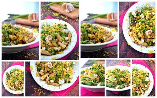 Asparagus & Goat Cheese Pasta Salad   Eats   Pinterest
