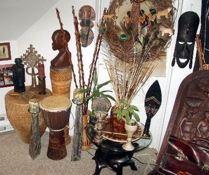 African Home D Cor Ethnic Rm Afrocentric Pinterest