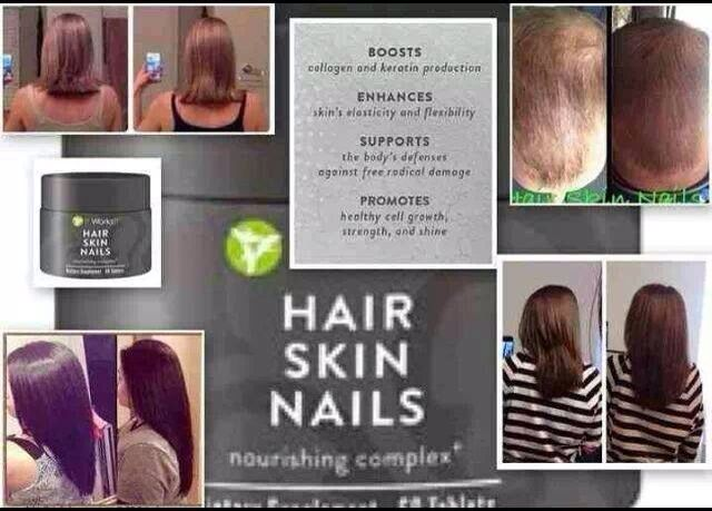 Hair Skin Nails! Contains Biotin, Keratin & Collagen for healthy ...
