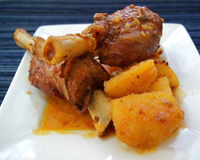 Pimenton Roasted Lamb Shanks I love lamb and this recipe sounds ...
