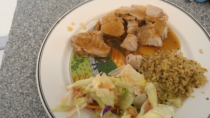 Slow Cooker Teriyaki Pork Tenderloin. This is now my favorite dish ...