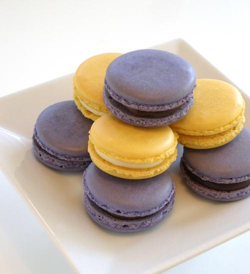 Blackberry and Lemon Macarons by kellbakes for Baking911, via Flickr ...