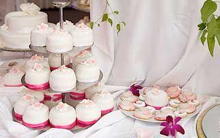 Hochzeits-Muffins  Hochzeit - Torte  Pinterest