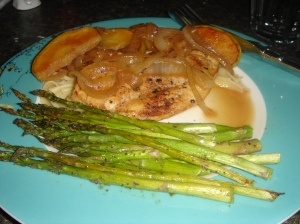 Chicken with Apples, Cider, and Onions | Favorite Recipes | Pinterest