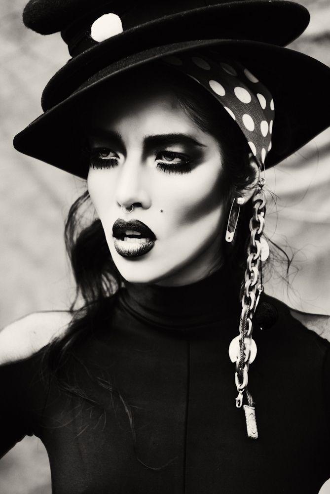 Nouveau Glam Goth Shoot By Vikram Pathak Goth