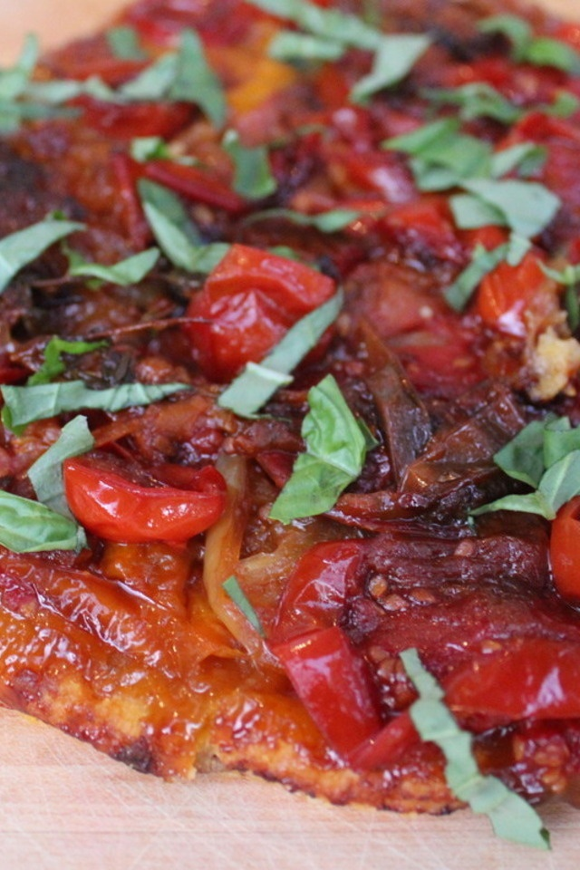 Tomato Tarte Tatin | Kitchen | Pinterest