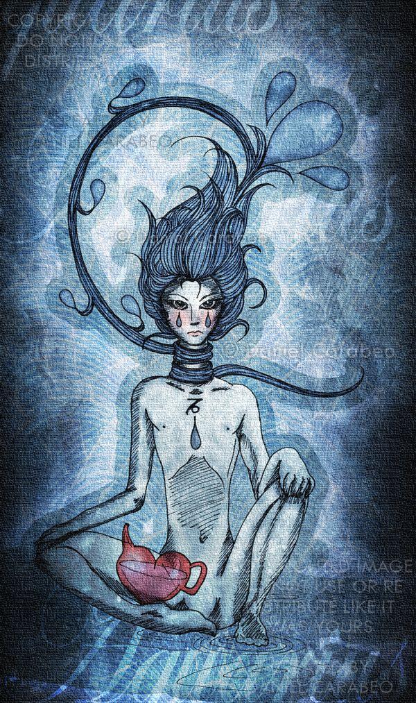 AQUARIUS - The Water Bearer by ninaste on deviantARTWater Bearer Aquarius