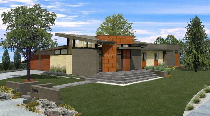 Mid century modern homes if i build it pinterest Century home builders