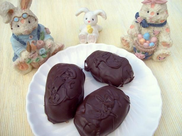 "Chocolate Covered Peanut Butter Eggs: ""Something special to make for ..."