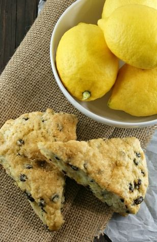 Lemon Currant Cream Scones | Most Important Meal of the Day! | Pinter ...