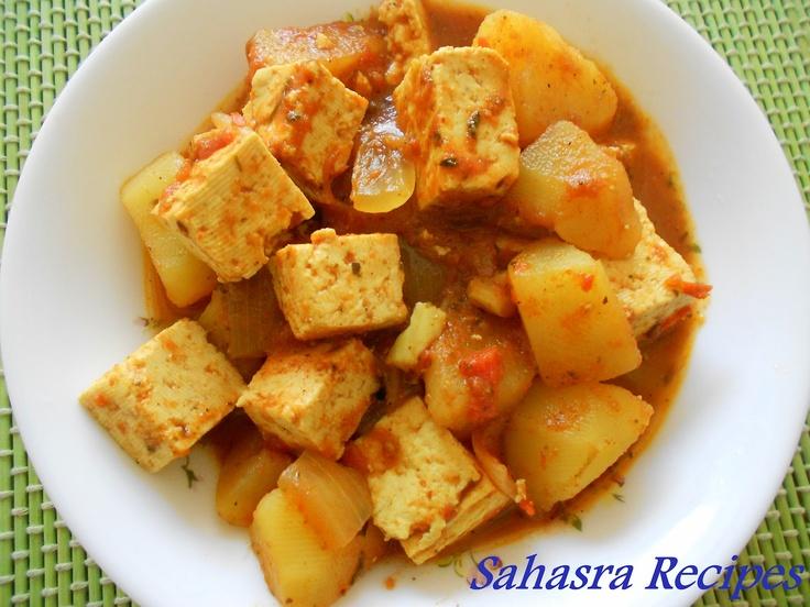 Potato Tofu Curry | I ♥♥♥ TOFU! | Pinterest